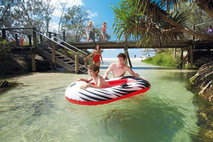 The best family-friendly activities on the Fraser Coast, from the heart of Hervey Bay to Fraser Island. Bring the kids and discover dingos, whales, waterparks and more! #thisisqueensland