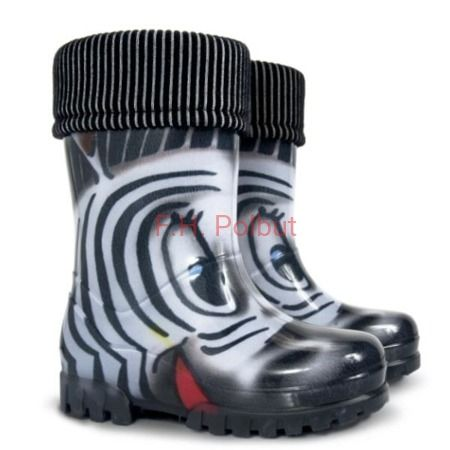 #TWISTER #PRINT #WELLIES #ZEBRA for #children's size from 17.1 cm to 22.1 cm. #Animals  #printed #patterns to choose.