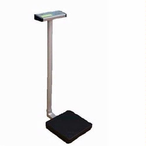 MedWeigh MS-3300 High Capacity Medical Scale with Column, 660 lb x 0.2 lb by ScalesGalore. $264.95. The MedWeigh MS-3300 high capacity digital medical scale features a large easy-to-read LCD digital display (1.5 inches in height) and a water-resistant keyboard. This high capacity scale has four simple to use function keys: Weight Hold, Weighing Unit, On/Zero/Off, and Tare. This medical scale is powered by the included AC adaptor or rechargeable batteries.