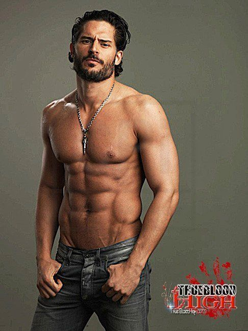 - Joe Manganiello- the sexy Alcide Herveaux.