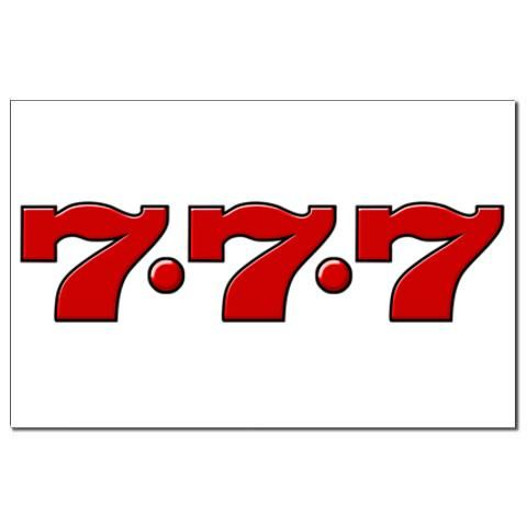 777 casino font