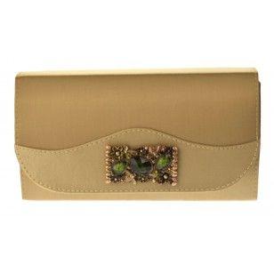 Bolsa Clutch Dourada, linda e versátil