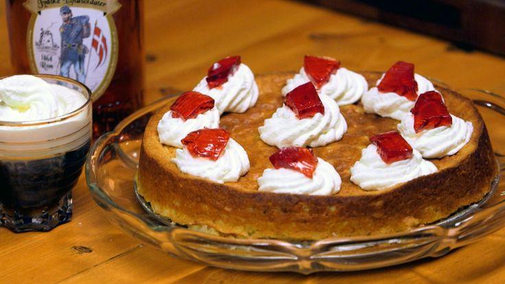 I serien om danske tradisjonsretter er brødrene Price helt sør på Jylland. Der lages det kake med utgangspunkt i risgrøt, som tilsettes mandler, sitronskall og kardemomme.