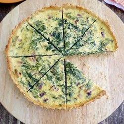 Nettle pie - Spring captured in a dish.