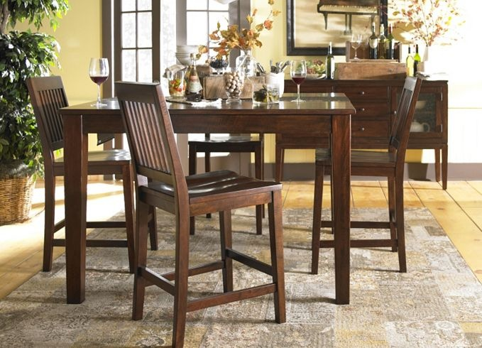 Marley Counter Table from Havertys | Home ~Decor | Pinterest