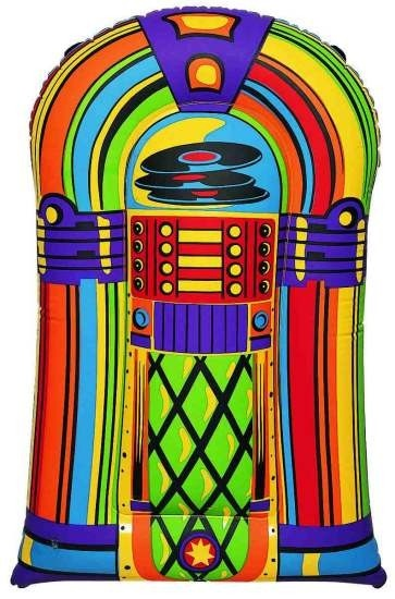 """This is so cute :)  Inflatable Jukebox 