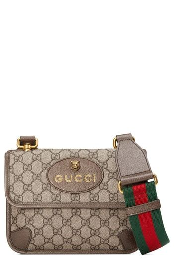 0d7a7db9244c Gucci Small GG Supreme Canvas Messenger Bag in 2019 | On-Trend ...