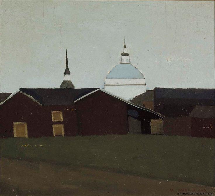 Lapuan kirkko. Eero Nelimarkka 1916.