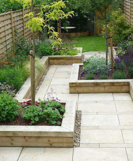 17 best ideas about narrow garden on pinterest narrow for Narrow backyard design ideas