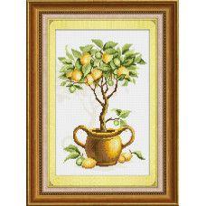 Набор для рисования камнями Lasko TK025 Лимонное дерево