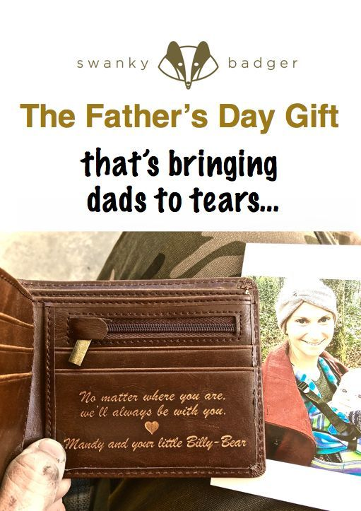 Personalized Wallet: Father's Day | Cool Tattoo Ideas