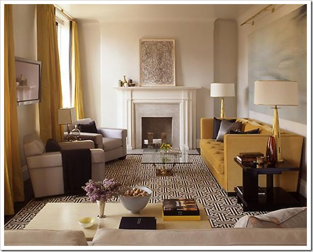 Gold Sofa Living Room | o2 Pilates