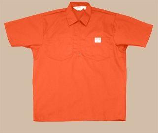 Ben Davis Clothing | Orange Ben Davis Shirt | Short Sleeve Ben Davis Shirt | Ben Davis ...
