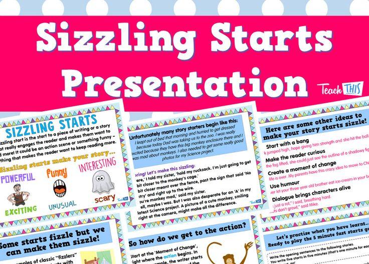 Sizzling Starts Presentation