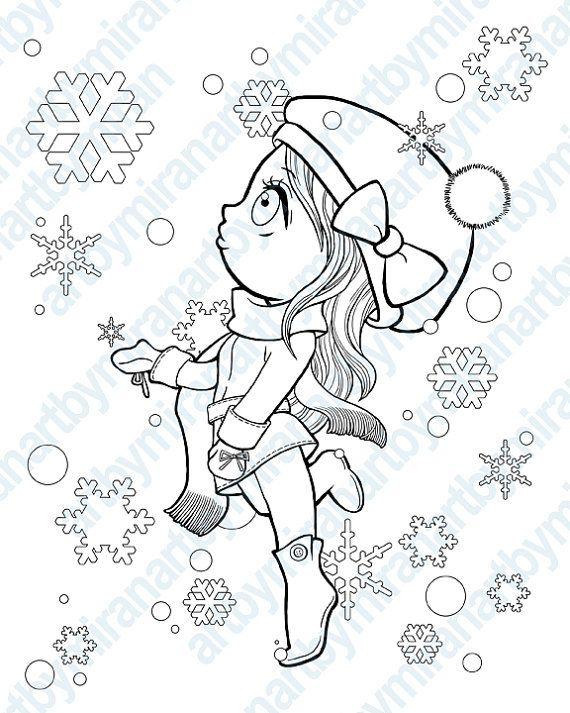 searching for the perfect kids coloring items shop at etsy to find unique and handmade kids coloring related items directly from our sellers - Christmas Coloring Pages Girls