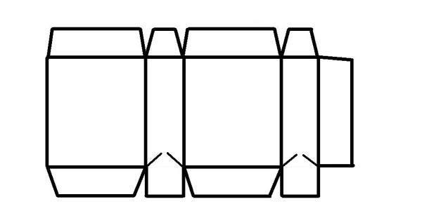 Plantillas para hacer bolsas de papel imagui empaques - Hacer bolsas de papel en casa ...