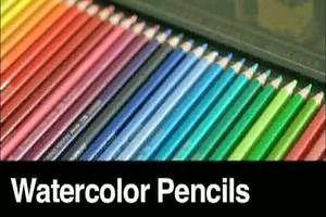 watercolor pencils - tutorials