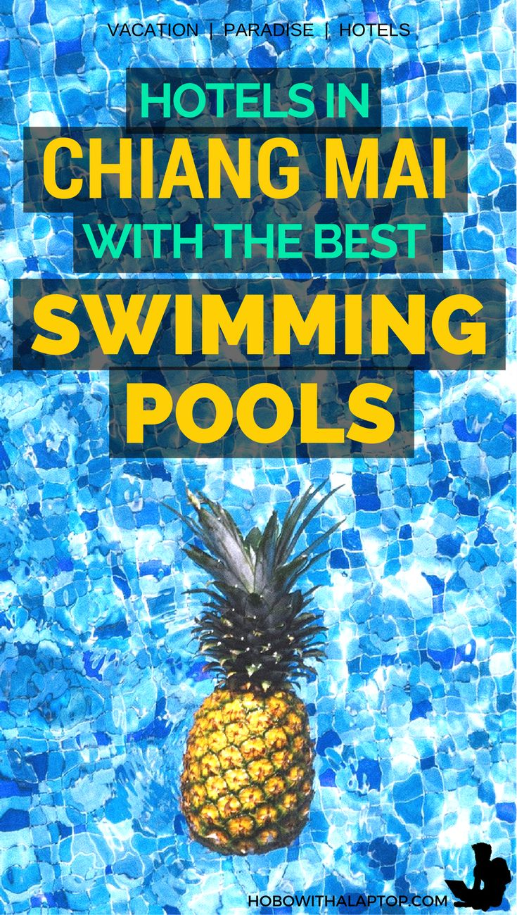 Cool down and chill out at these wonderful pools situated in the most ideal locations in Chiang Mai, Thailand. You never have to leave the hotel when you're relaxing in one of these spacious, crystal-clear pools. Learn more at http://hobowithalaptop.com/chiang-mai-swimming-pools