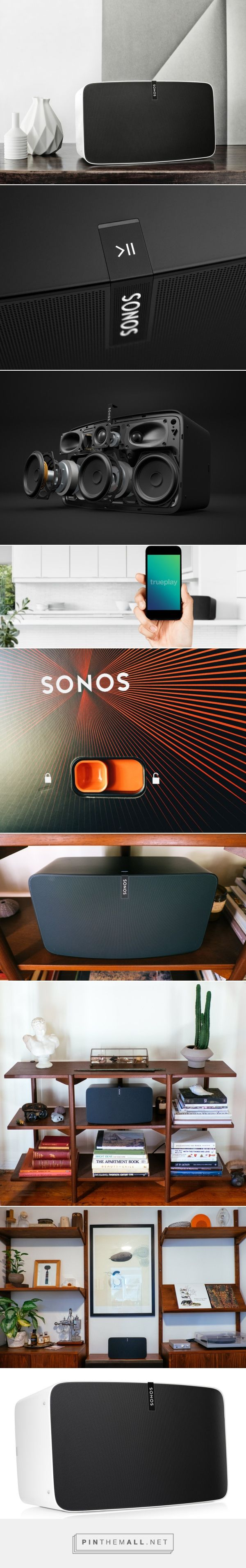 Sonos PLAY:5 Is Simplicity Born Out of Conflict - Design Milk - created via http://pinthemall.net