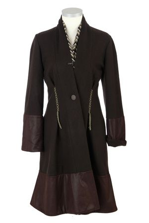 Shop L U C Y Winter Coat by IOSOY now on nelou.com. Plus 8600 more designs.