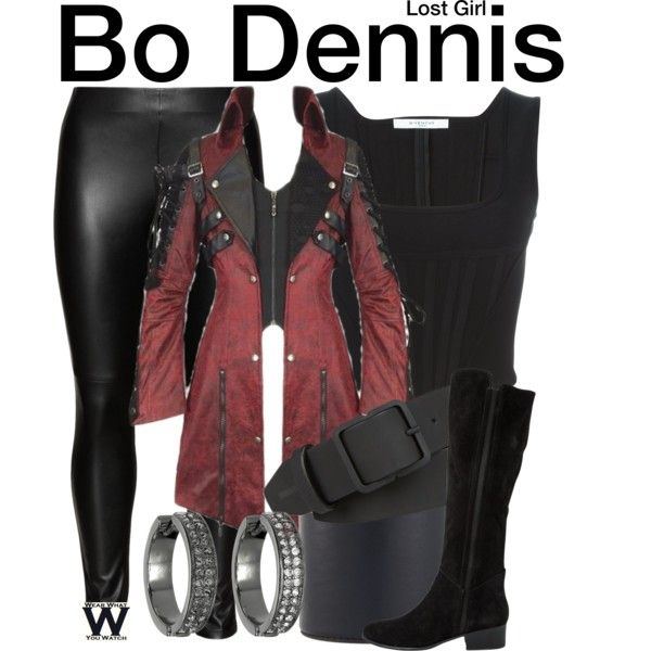 Inspired by Anna Silk as Bo Dennis on Lost Girl.