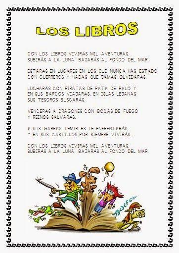 DÍA DEL LIBRO | Libros recomendados para niños, Poemas
