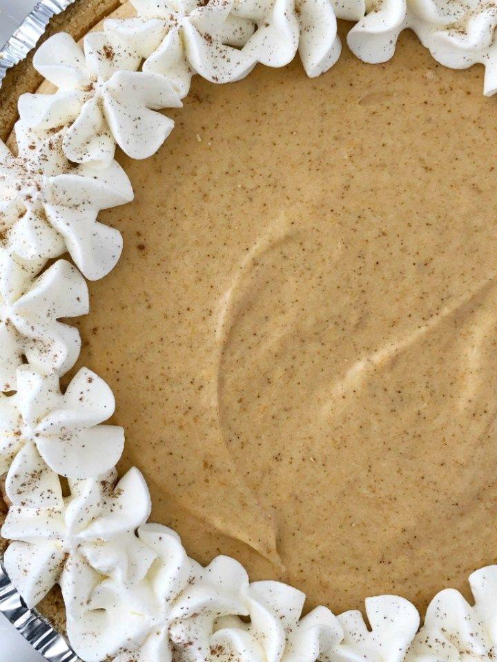 Nein Bake Marshmallow Pumpkin Pie   Kürbiskuchen Rezept   Kein Kuchen backen   Keine Backpulver …