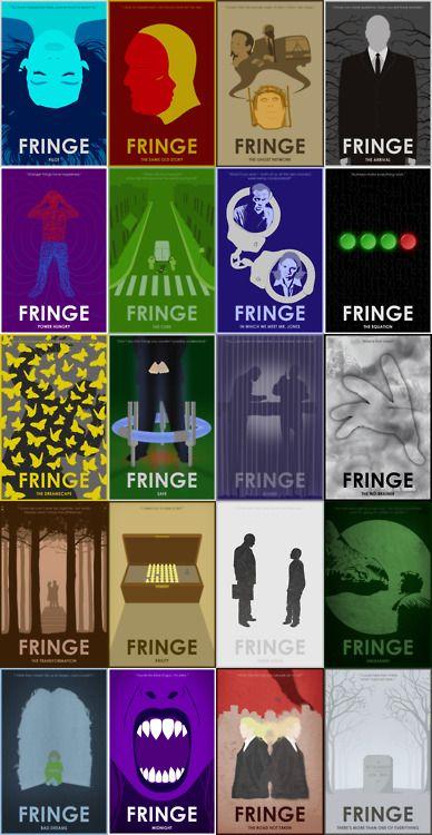 Fringe Season 1 - 20 posters for 20 episodes