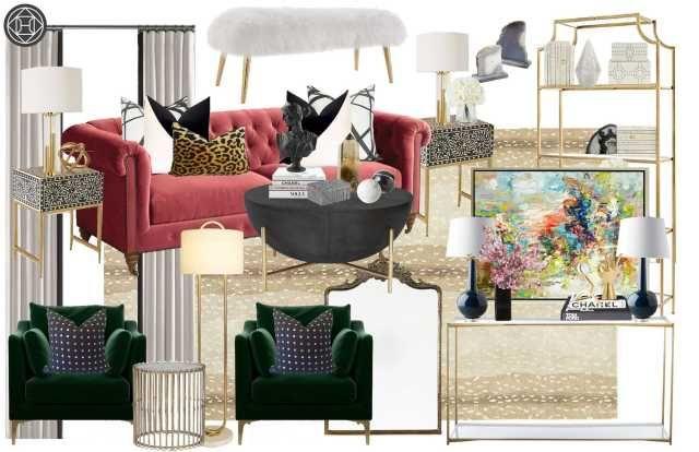 Havenly Online Interior Design Review Formal Living Room