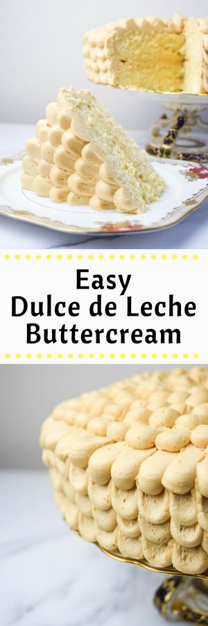 The Easiest Dulce de Leche Buttercream