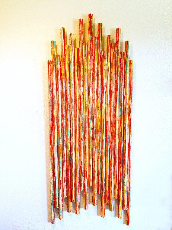 IN STOCK SALE! Ready to ship | Original Wall Sculpture | Custom Contemporary Wall Art | Corporate Art | Rosemary Pierce Modern Art LE22012 | www.RosemaryPierceModernArt.com
