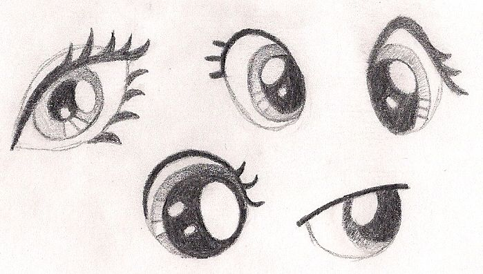 How to Sketch Eyes on My Little Pony Characters by drawponies on deviantART