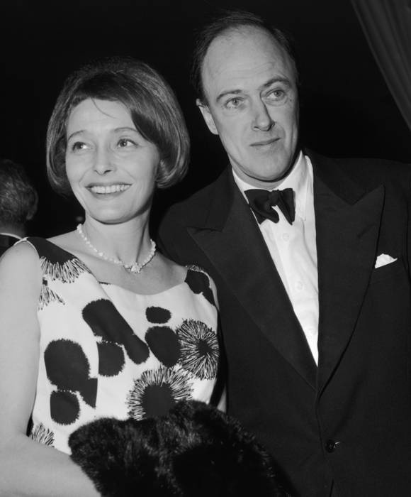 Patricia Neal with then husband Ronald Dahl at the Screen Directors Awards, 1962.