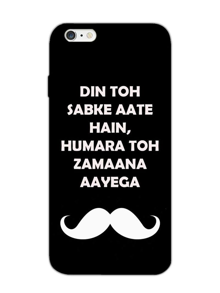 Zamana Hamaara - Typography Quotes - Designer Mobile Phone Case Cover for Apple iPhone 6