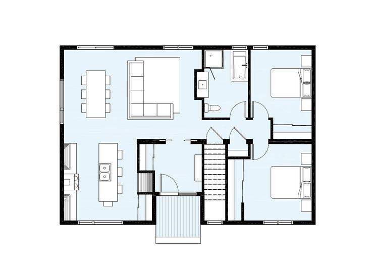 Maison neuve - Série Urbaine, modèle Eko