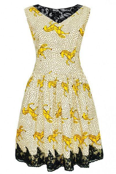 Sukienka z bawełny  w maiko na DaWanda.com
