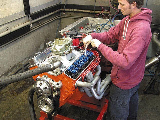 Chevrolet 406 Big Block Chevy High Performance | Richard's Garage