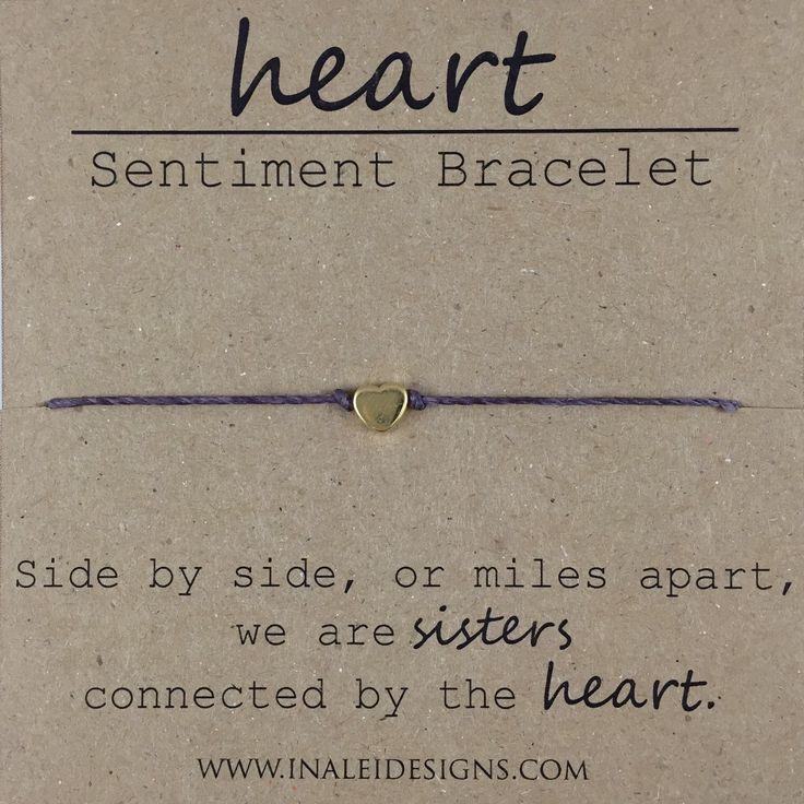 Sister Beaded Bracelet, Gift for Sister, Sister Moving Away Gift, Dainty Bead Bracelet by InaLeiDesigns on Etsy https://www.etsy.com/listing/262191363/sister-beaded-bracelet-gift-for-sister