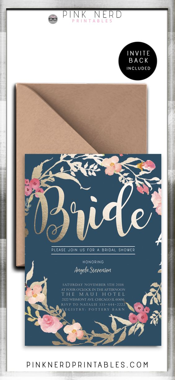 Best Place Buy Bridal Shower Invitations