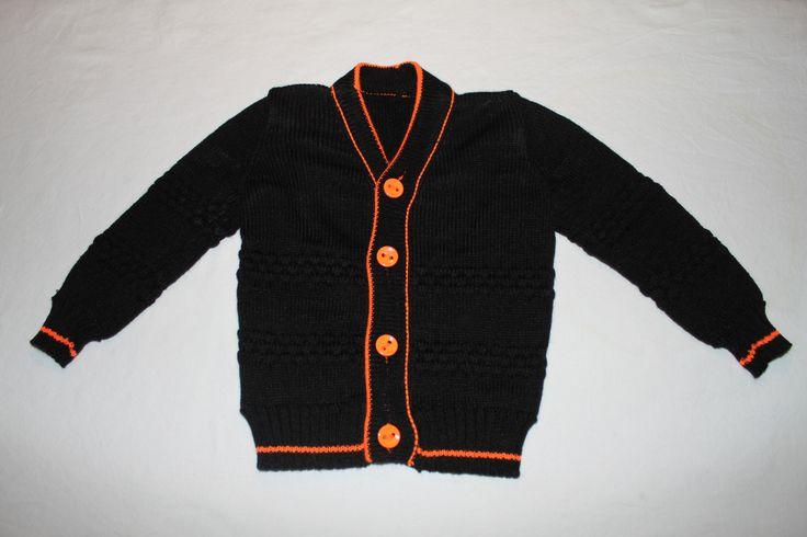 Sømands trøje  Str 1 år Fremstillet i Bomuld/acryl Pris 200  kr ex forsendelse
