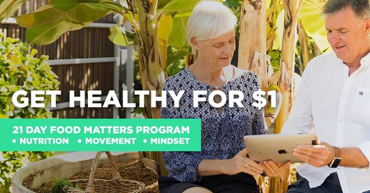 Our first group for our NEW 21 Day Food Matters Program has kicked off, we could not be more excited!!   You can still join in with us for just $1! You'll have access to meal plans, shopping lists, daily yoga and meditation classes, guided video instruction & 24 hour live chat support. Start anytime. Cancel anytime. Find out more: http://bit.ly/FM-21-Day-Program