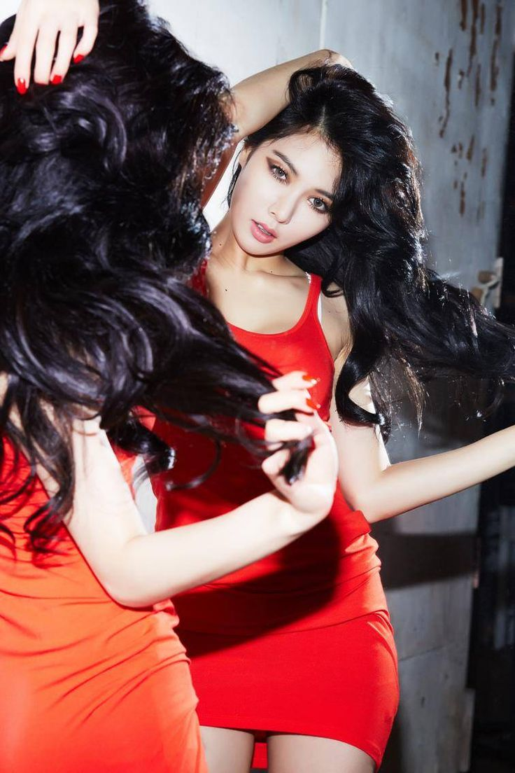 HyunA is a fiery vixen in 'RED' teaser images | allkpop.com