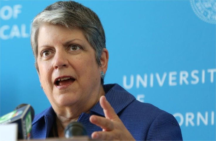 University of California President Janet Napolitano speaks at a news conference Tuesday 7th July 2015, at the Sacramento City College Davis Center, West Village at UC Davis. President Napolitano unveiled UC's new Transfer Pathways program for community college students. Credit: Fred Gladdis/Enterprise photo.