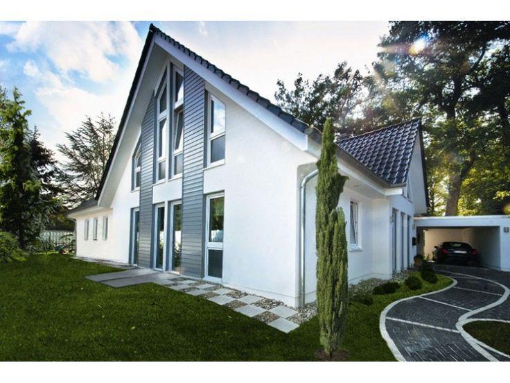 Haus bauen ideen satteldach  Die besten 20+ Einfamilienhaus mit einliegerwohnung Ideen auf ...