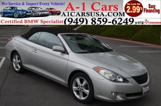 Convertible, 2005 Toyota Solara Convertible with 2 Door in Lake Forest, CA (92630)