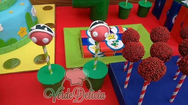 Popcakes planta carnívora Mario Bross