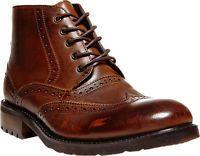 Men's Steve Madden Restorr - Brown Leather Boots