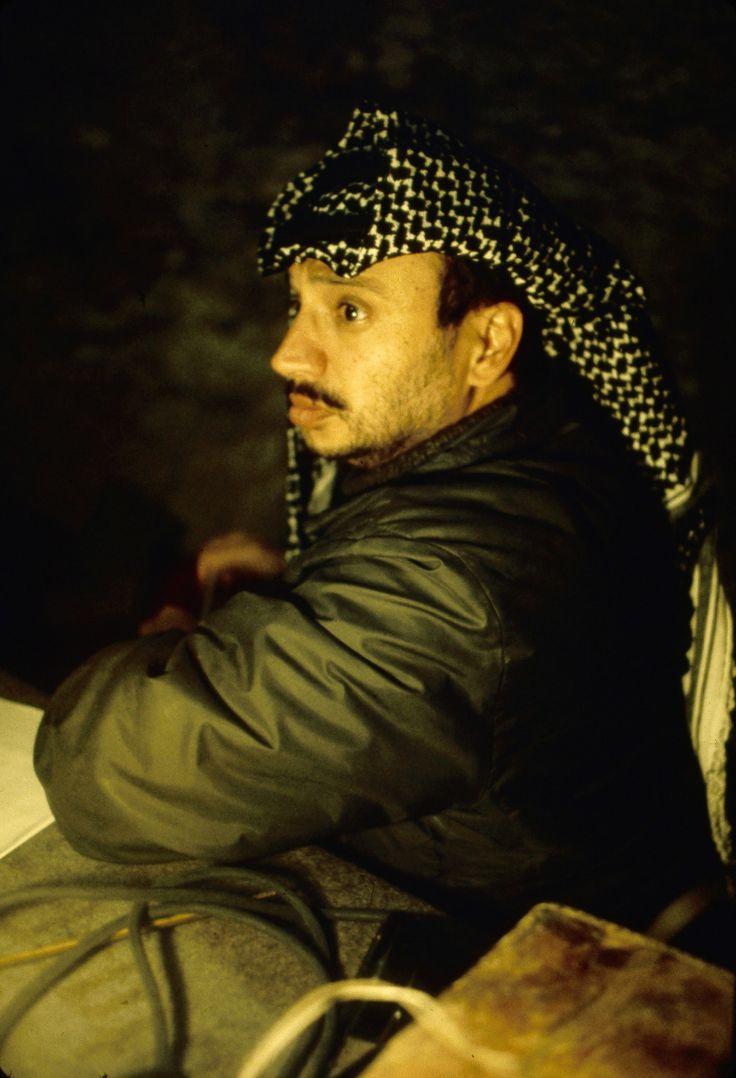 Le 3 Février 1969, Yasser Arafat est désigné à la tête de l'OLP (Organisation de libération de la Palestine) En Décembre 1968, il n'est encore que le leader du Fatah Photo: Jean-Claude Sauer / Paris Match