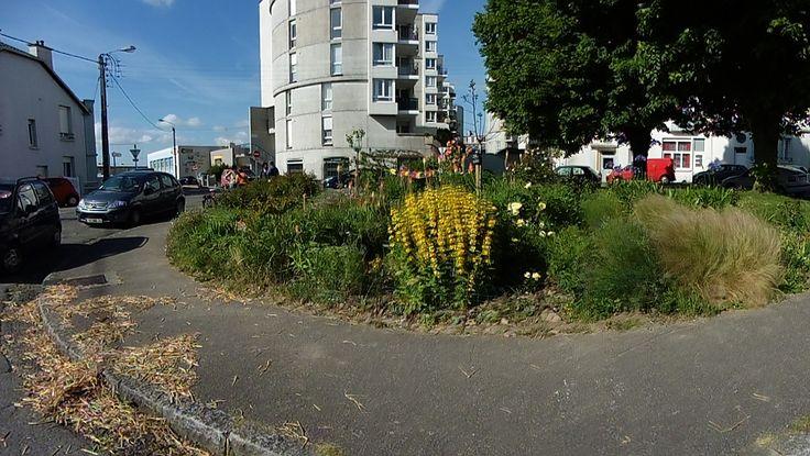 Rond de jardin, Place Nicolas Appert à Brest