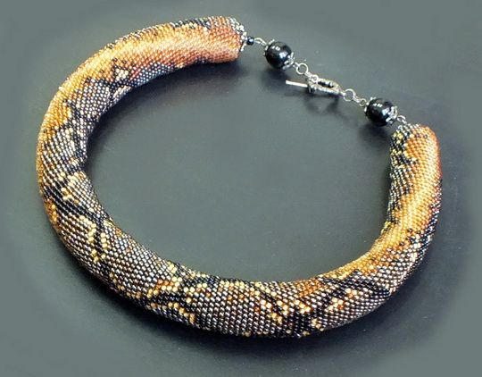 Beautiful beaded jewelry by Marina Samotolkova | Beads Magic